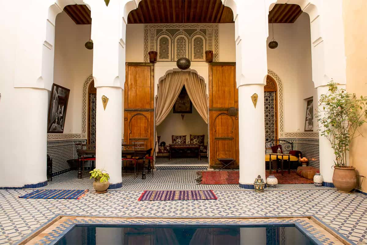 Riad with pool - AirBnb