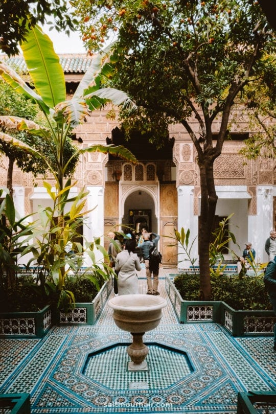 things to do marrakech Bahia Palace