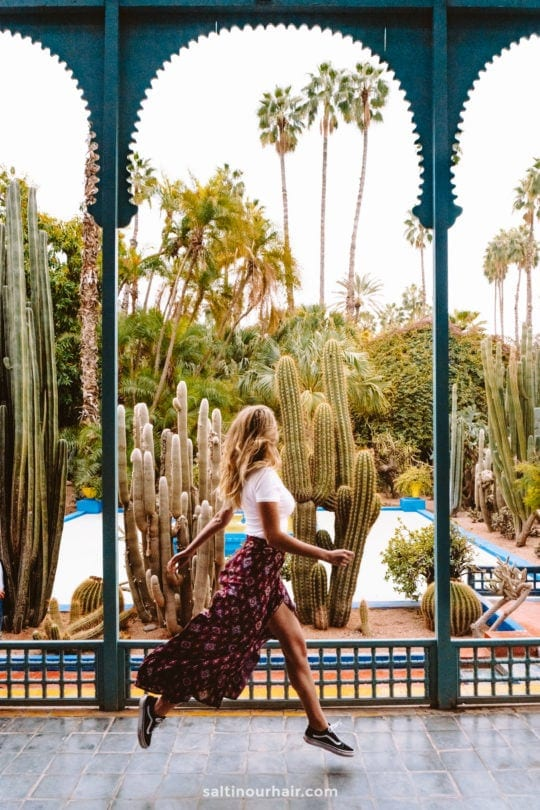 things to do marrakech Majorelle Gardens