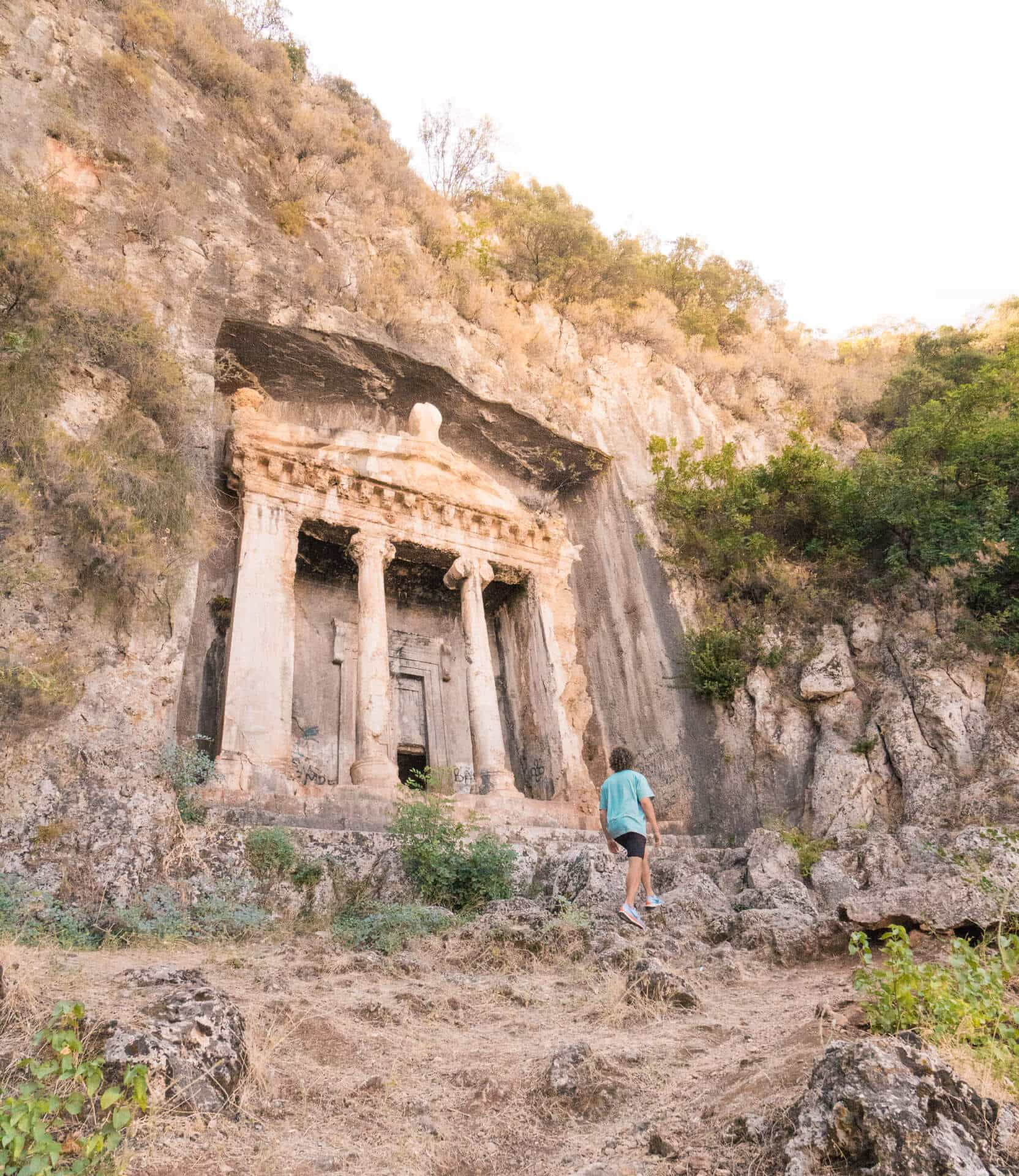 fethiye things to do Lycian Rock Tombs