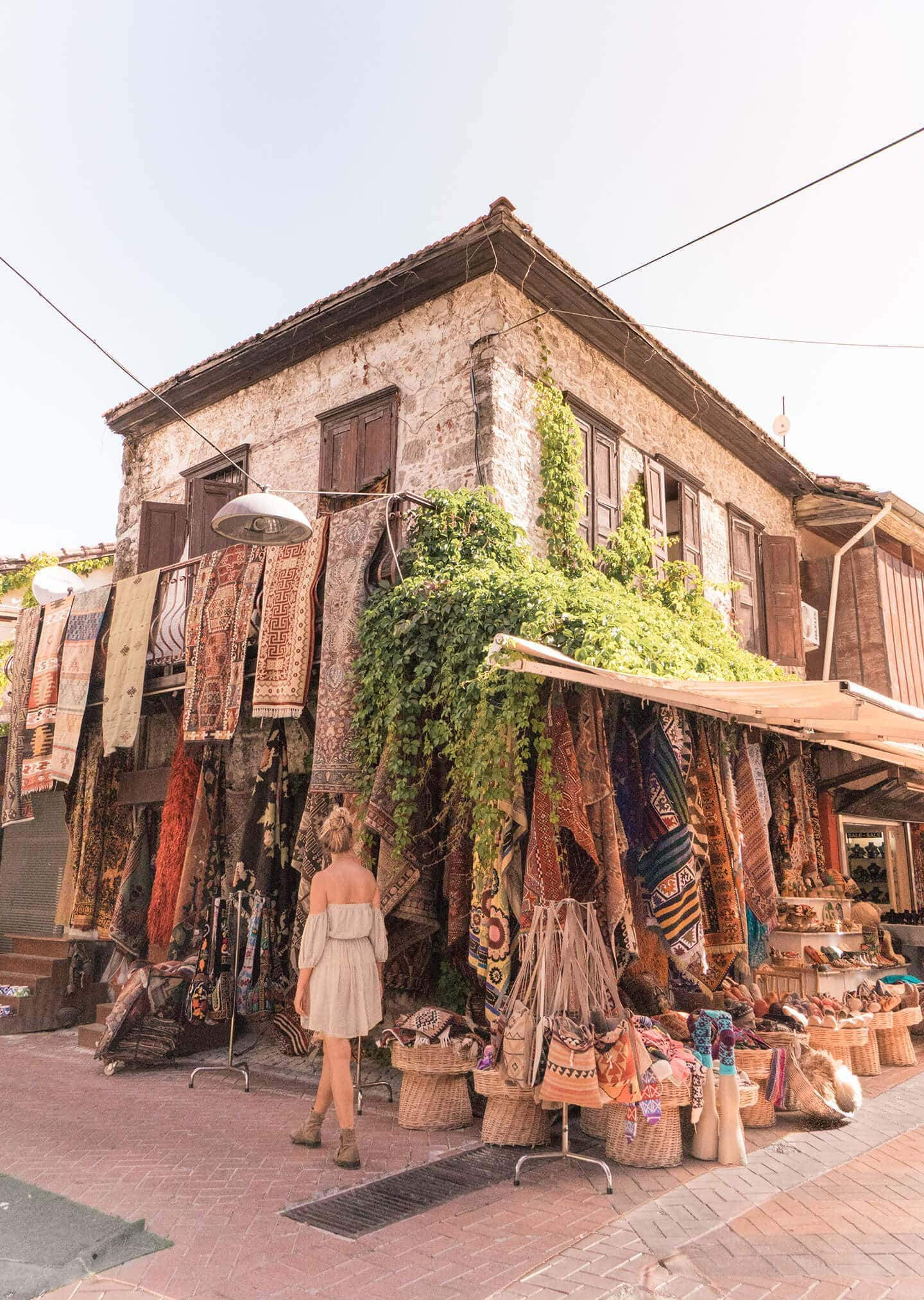 fethiye things to do old town