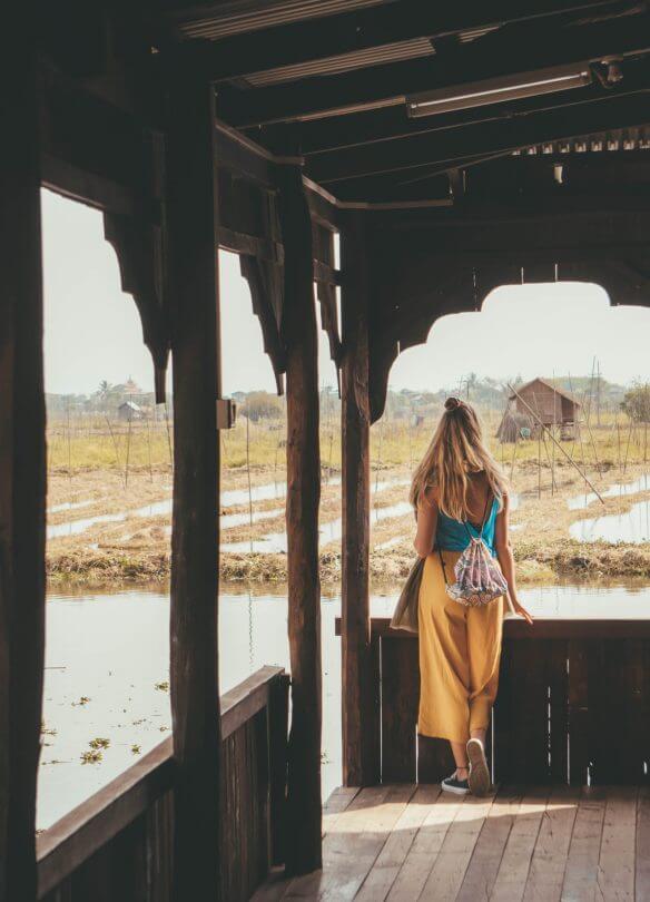 things to do inle lake Nga Phe Kyaung Monastery