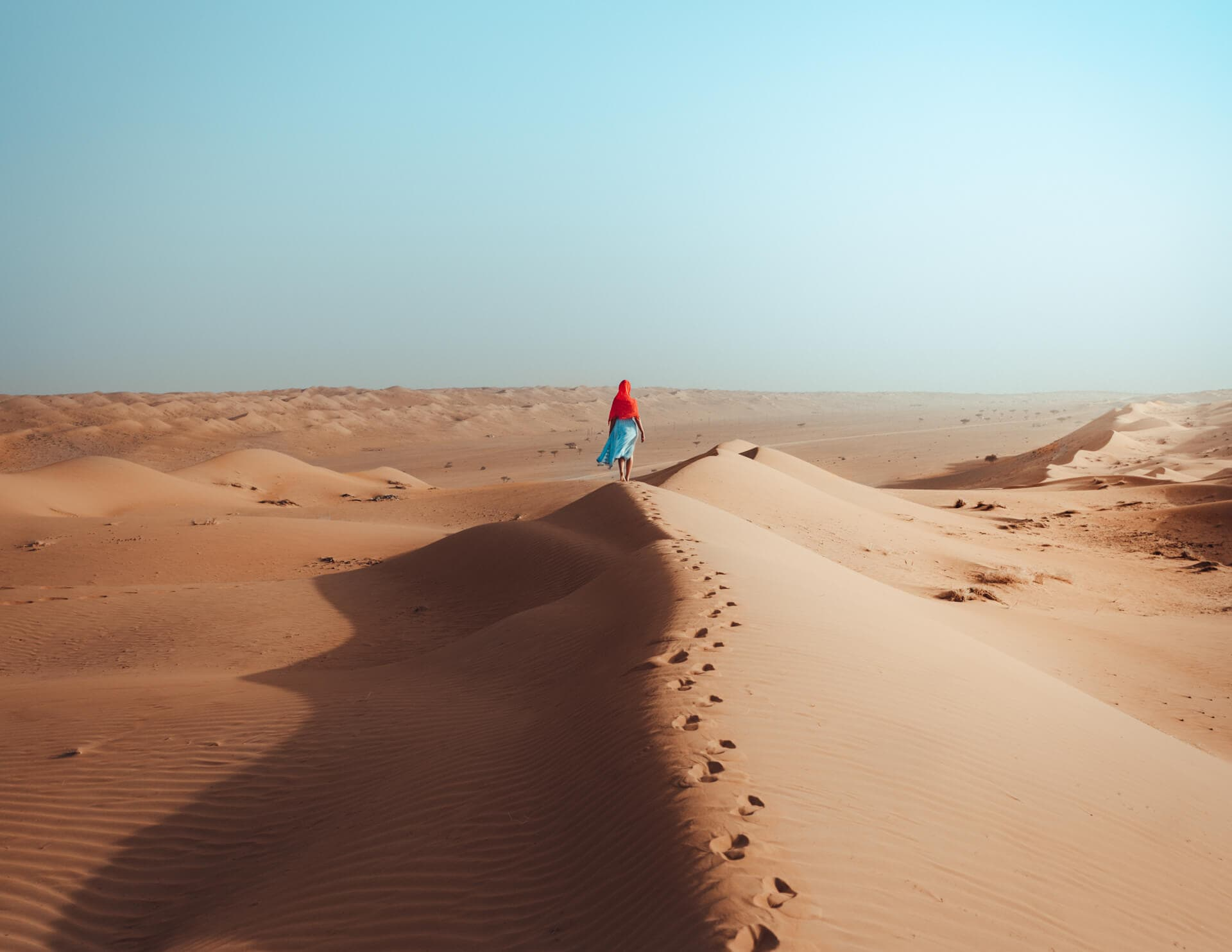 things to do in oman wahiba desert