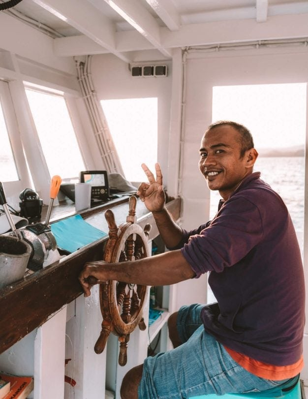 komodo islands flores captain