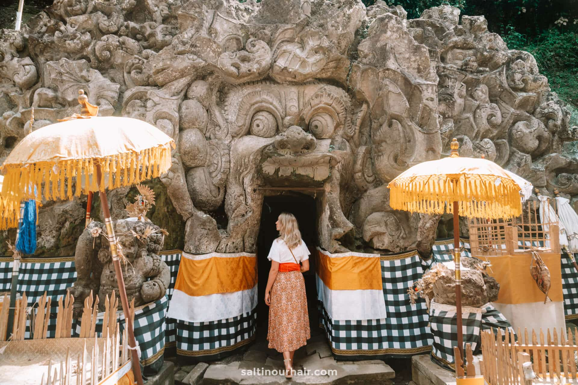 things to do ubud Goa Gajah Elephant Cave