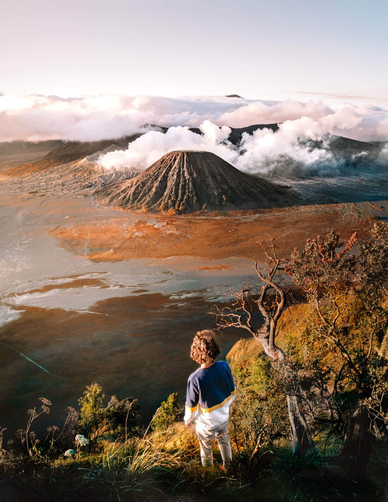 indonesia route java bali flores bromo sunrise viewpoint