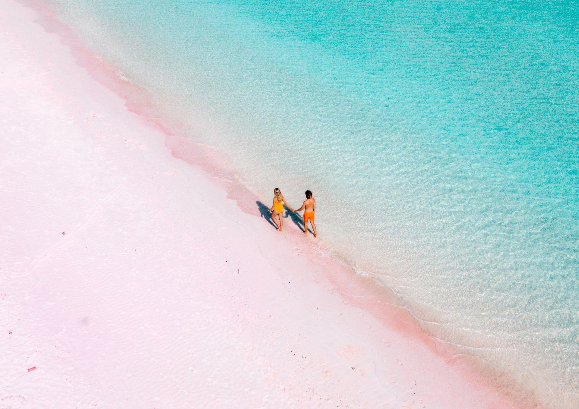 indonesia route java bali flores pink beach