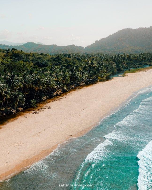 things to do el nido Duli Beach