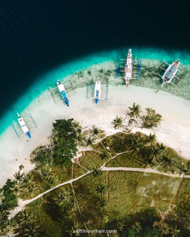 things to do el nido island hopping