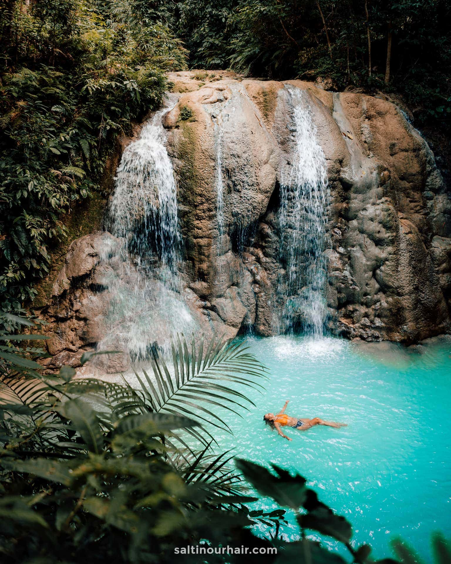 philippines travel guide siquijor lugnason falls