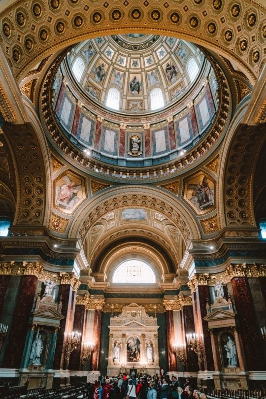 city guide St Stephens Basilica