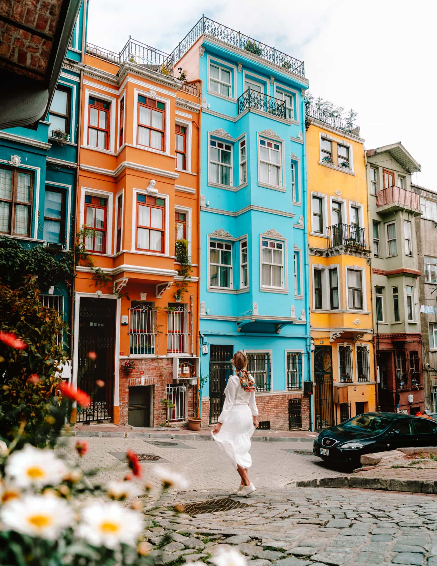 ISTANBUL BALAT - Must-see Colorful Houses in Istanbul