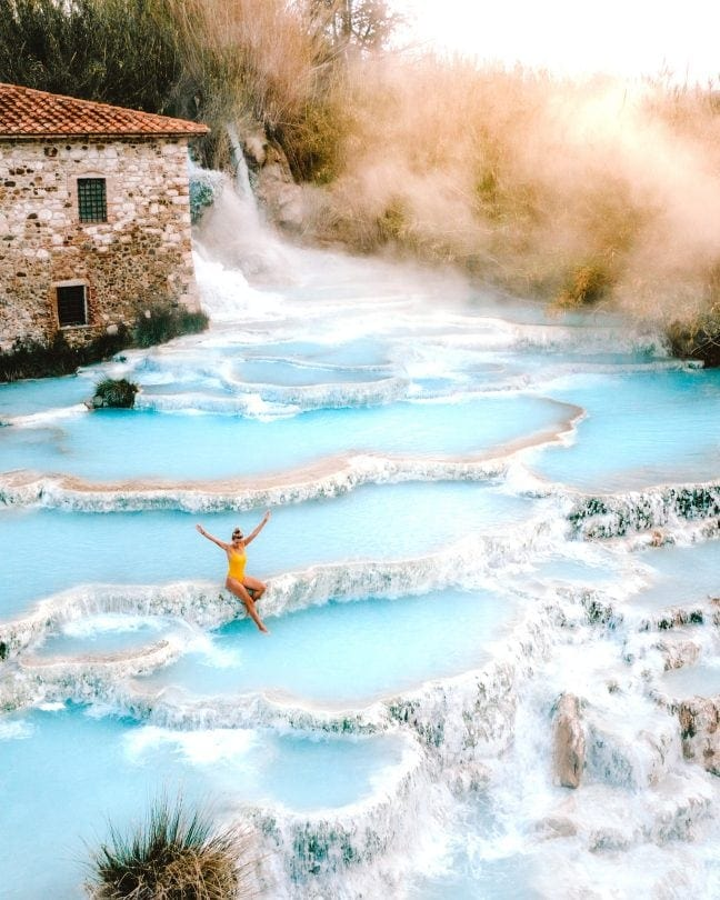 italy travel guide saturnia hotpools