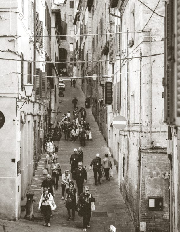 siena streets tuscany