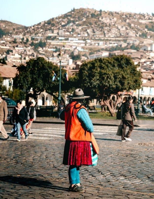 Cusco Local Clothing