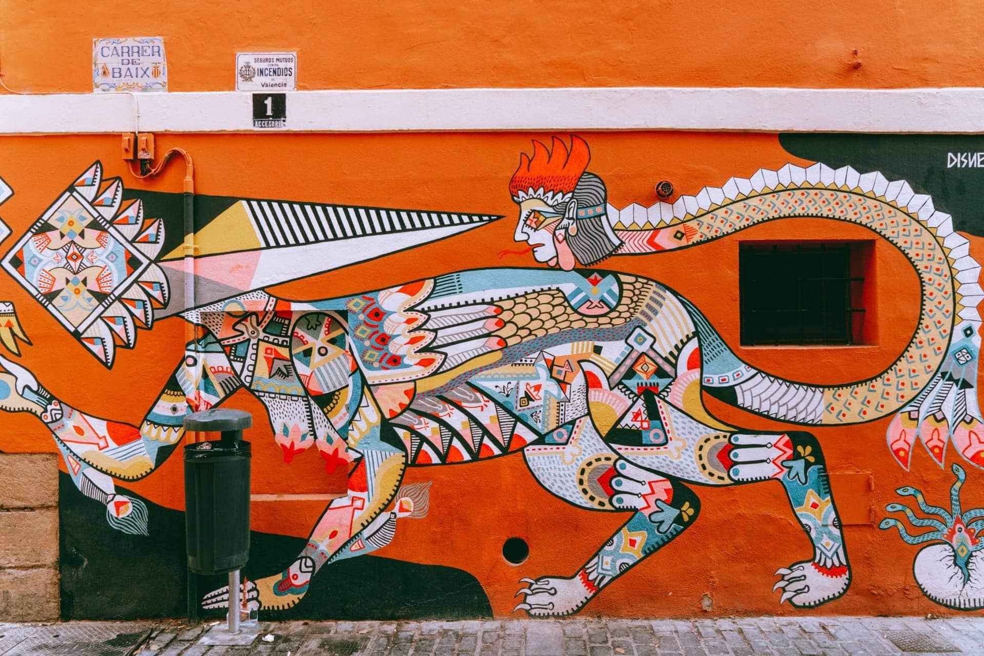 valencia spain art