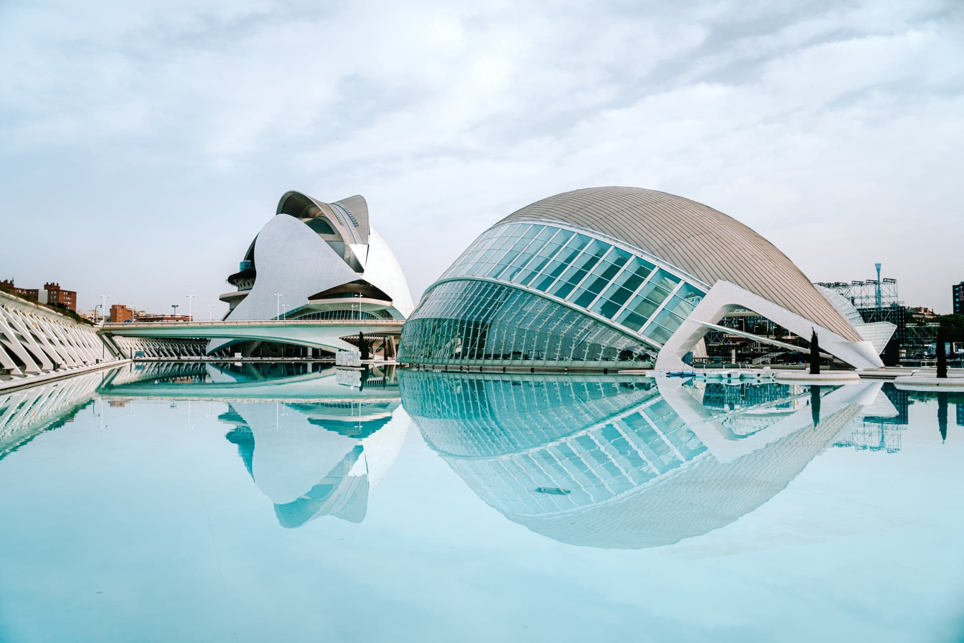 valencia spain city arts sciences