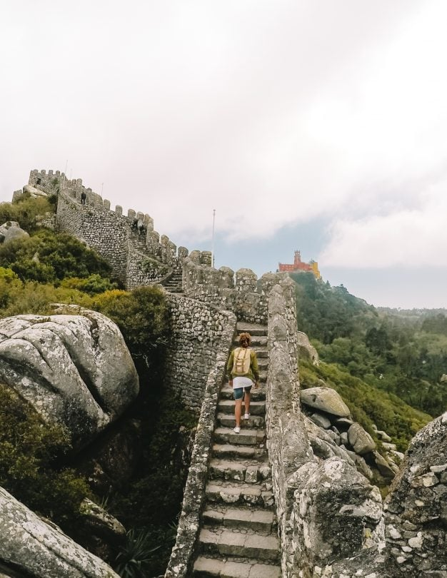 Moorish Castle portugal