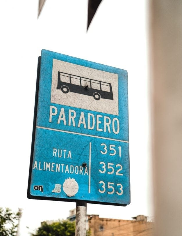 lima peru bus