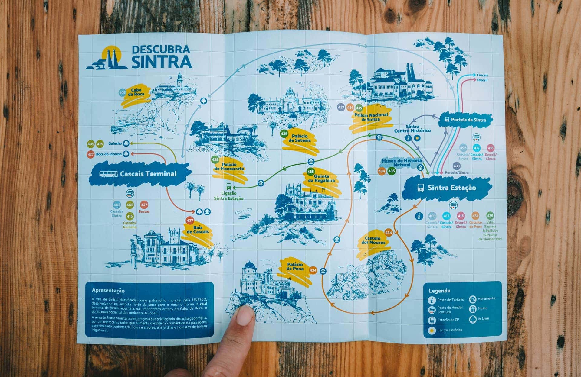 sintra bus route