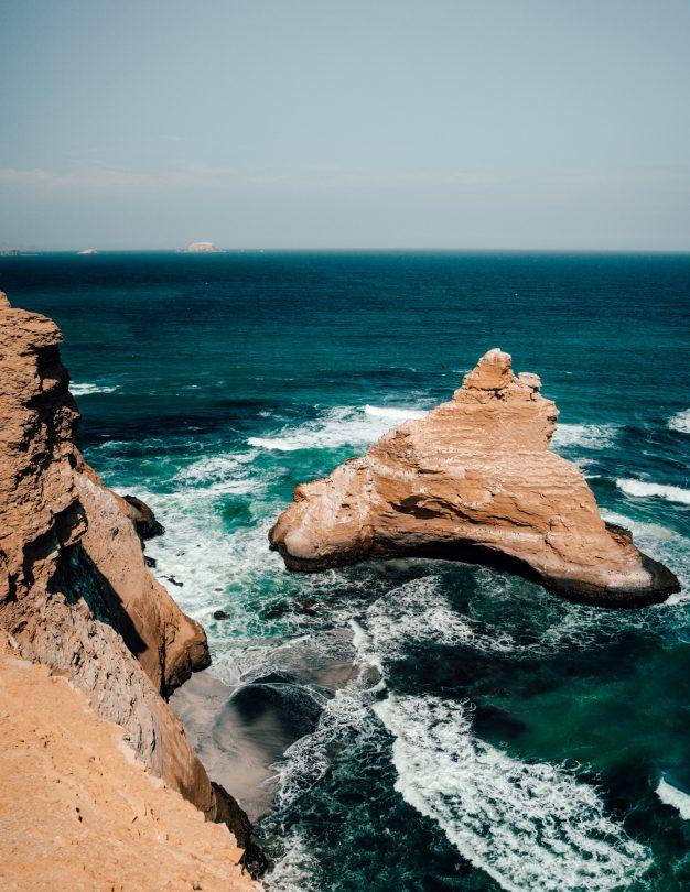 Paracas National Reserve rocks