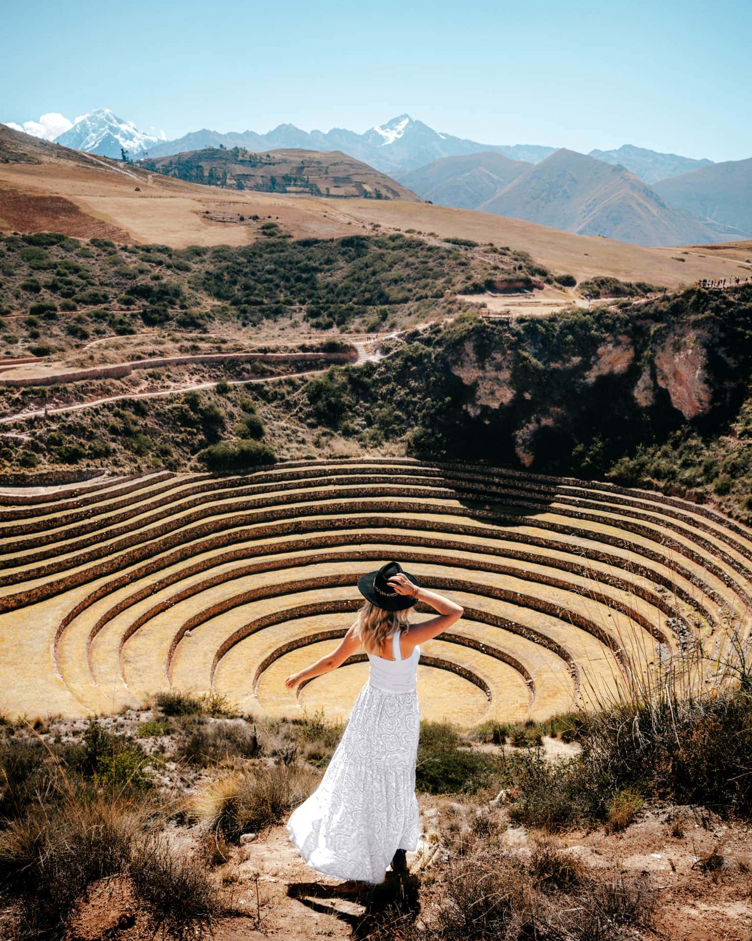 Moray Terraces sacred valley peru