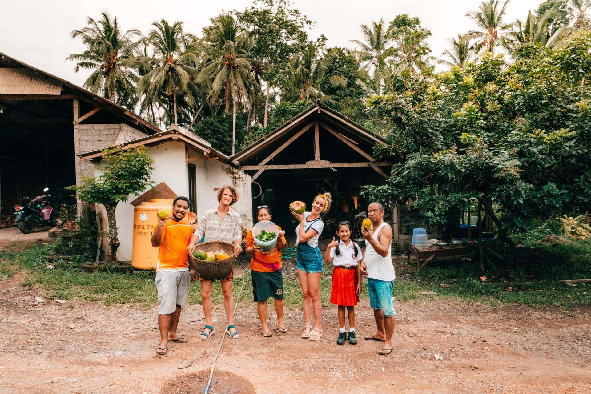 bali guide stay with local family