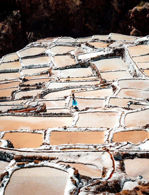 peru travel Maras Salt Mines