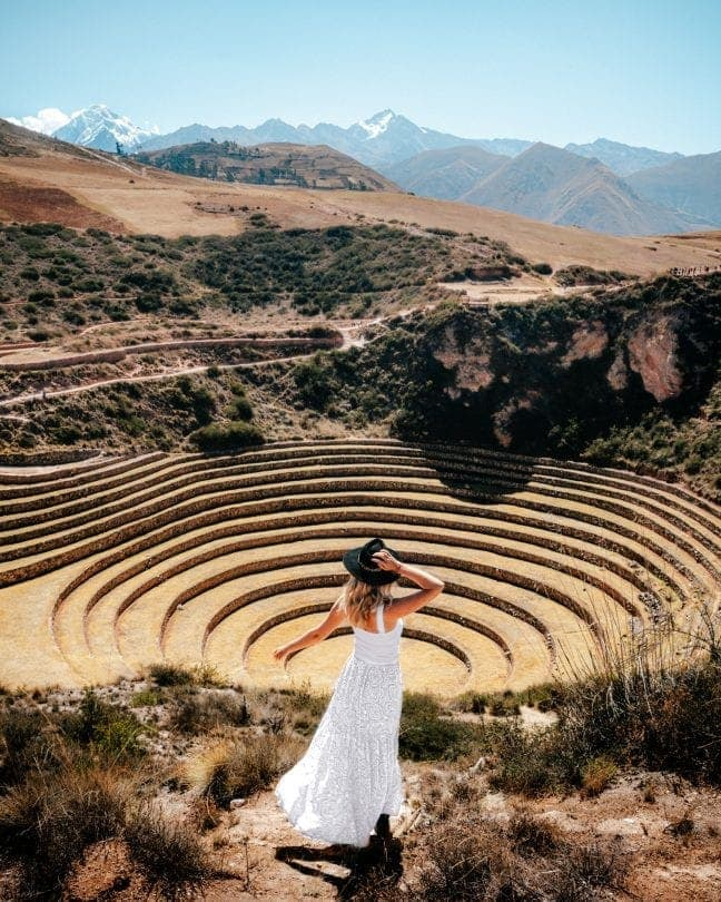 peru travel guide Moray Terraces sacred valley