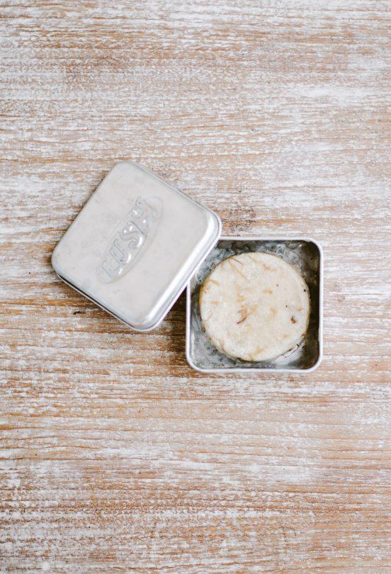 shampoo bar tin case