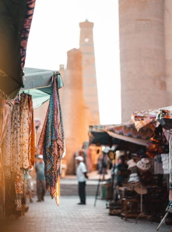 things to do khiva Bazaar