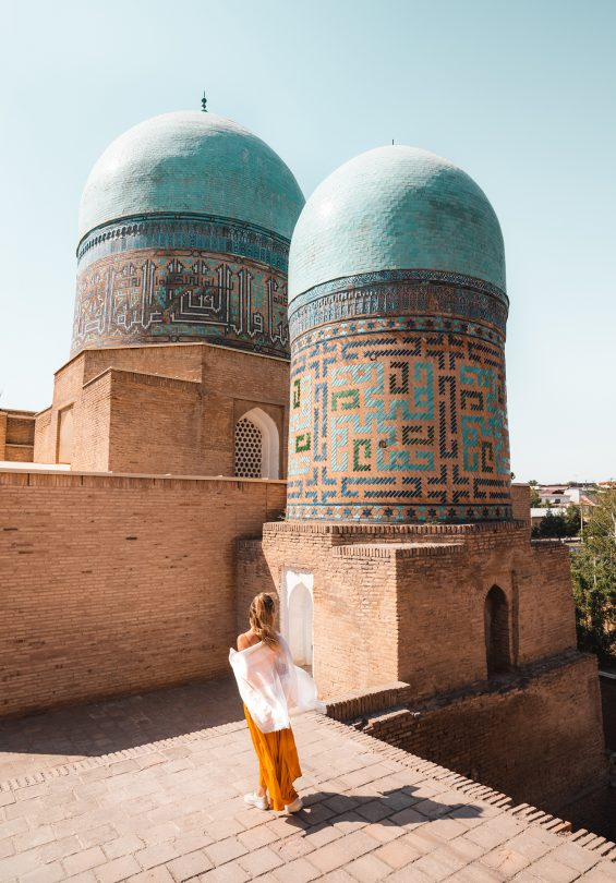 things to do samarkand Shakhi Zinda