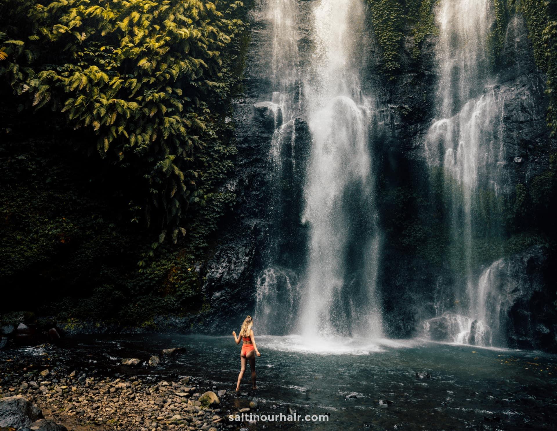 sekumpul waterfall bali route