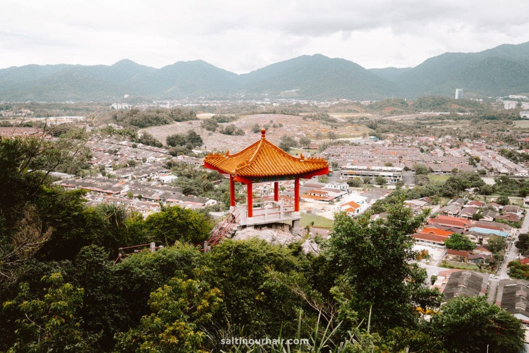 Perak Tong Cave Temple viewpoint