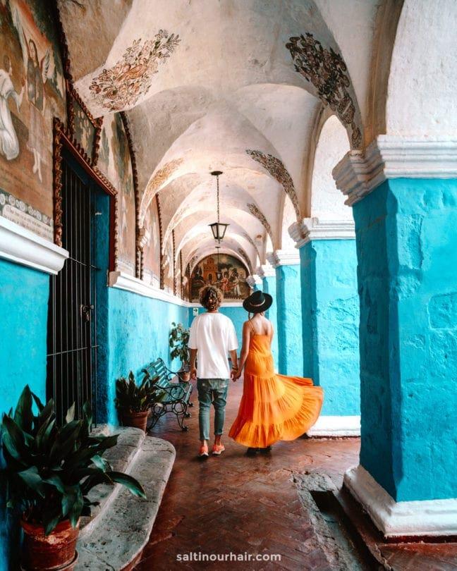 arequipa peru Santa Catalina Monastery