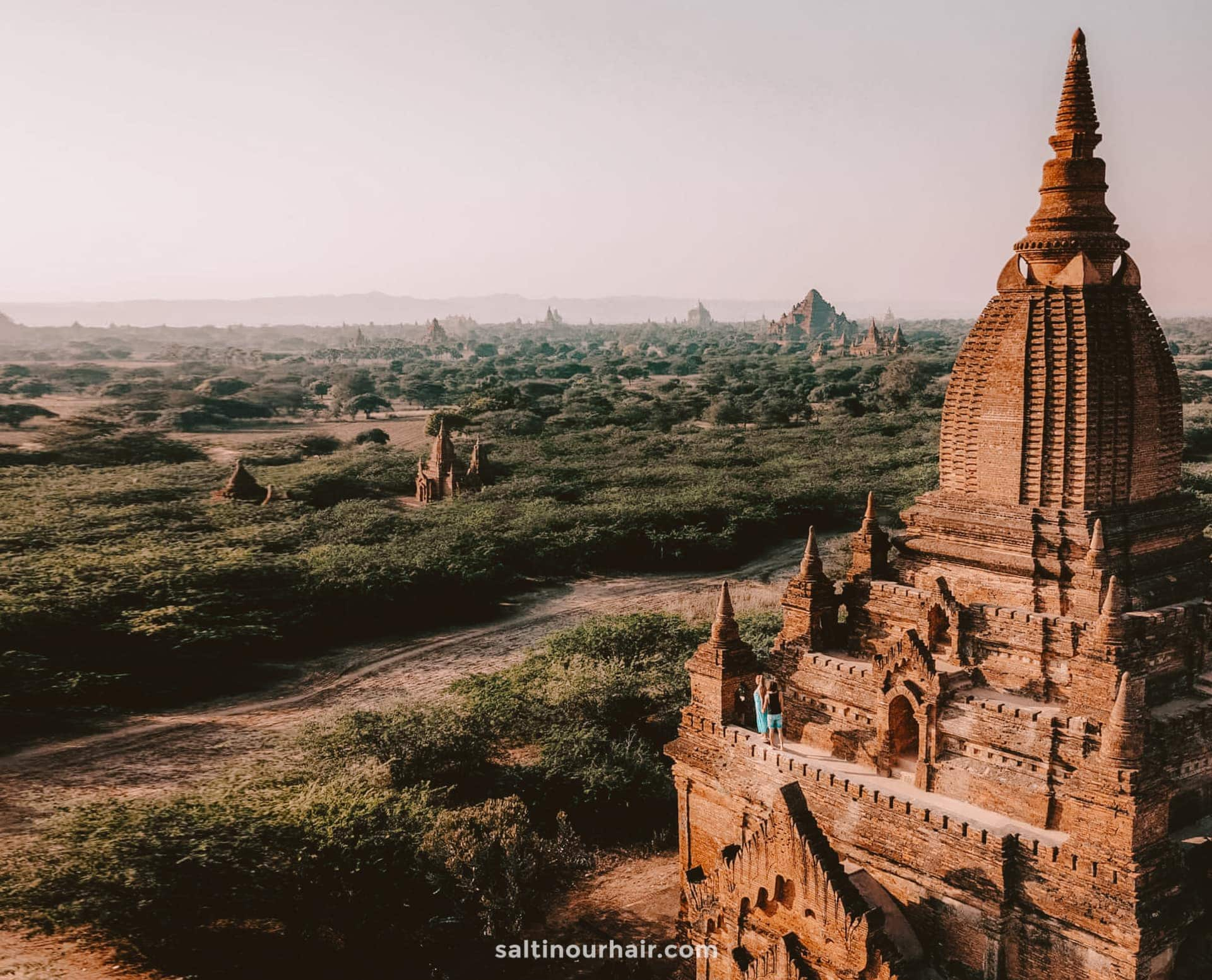 best unesco world heritage site bagan myanmar