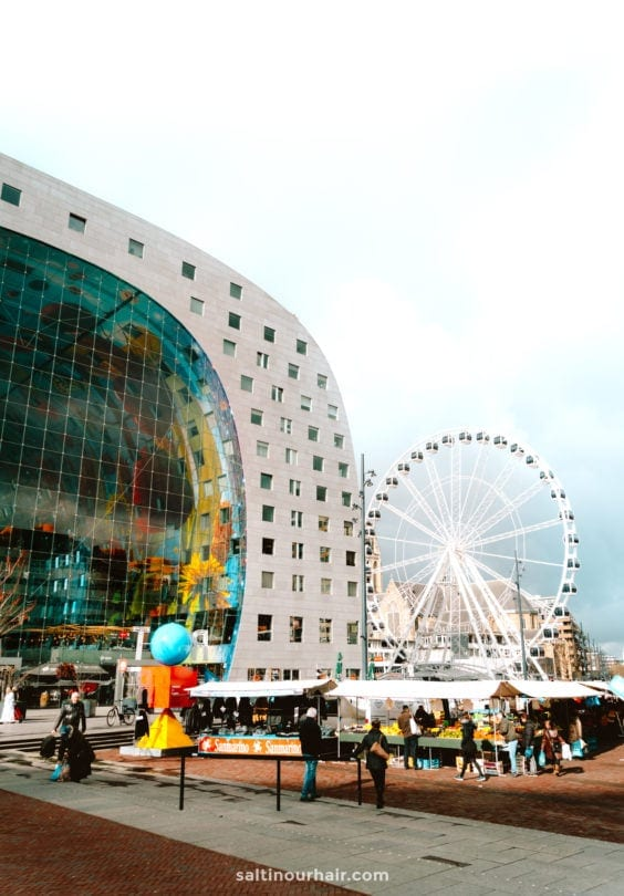 things to do rotterdam markthal