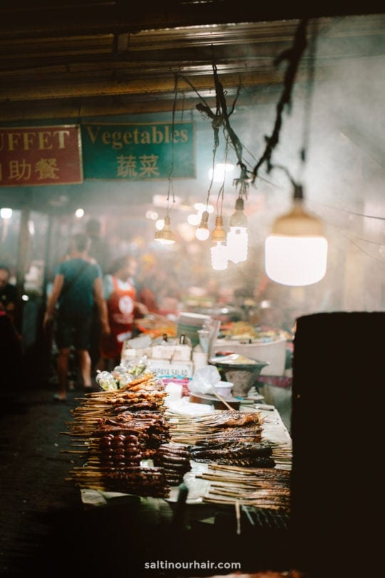 laos food market