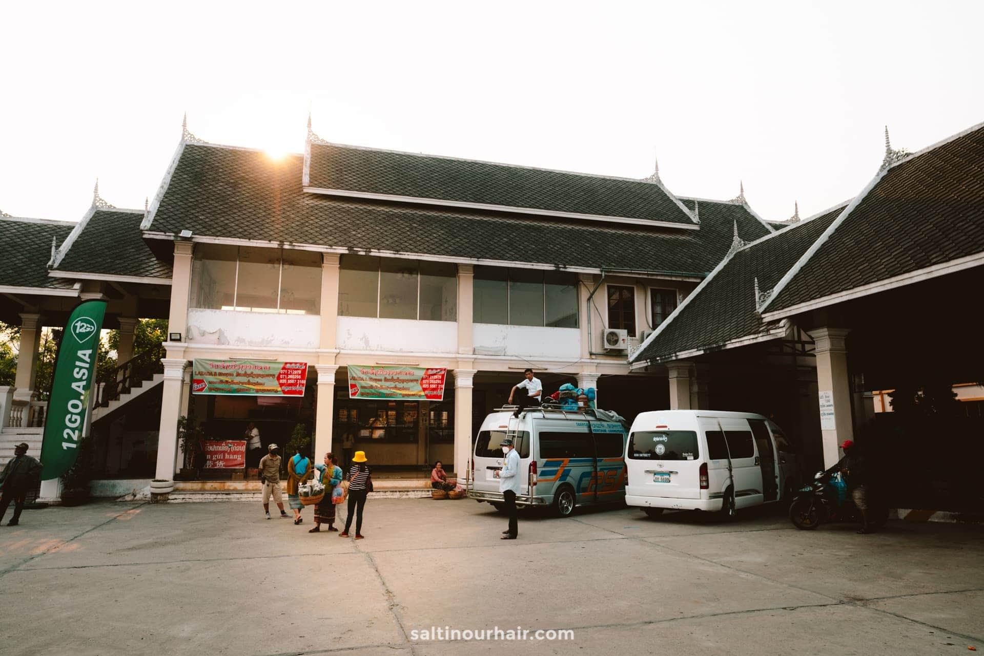 luang prabang bus station