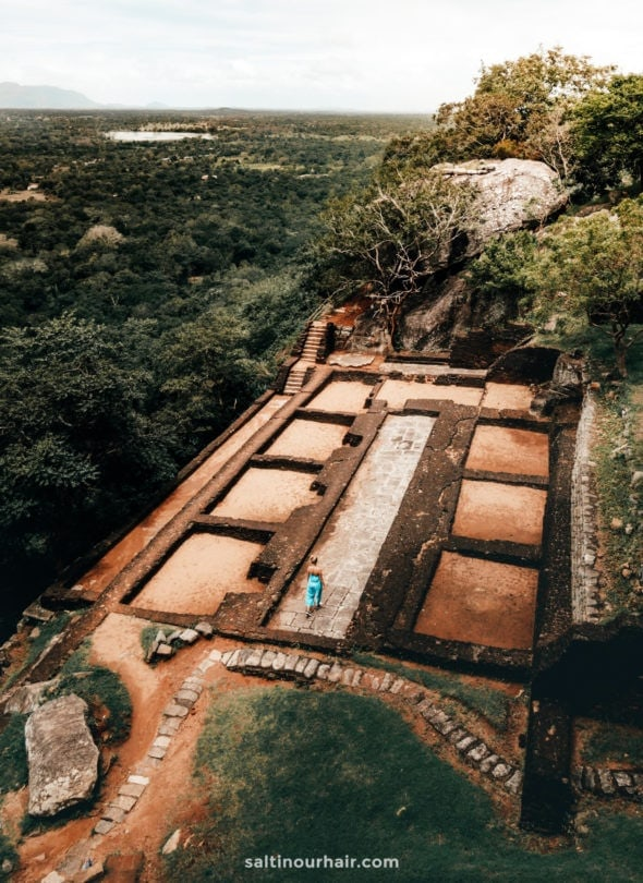 sigiriya lion rock sri lanka archeology