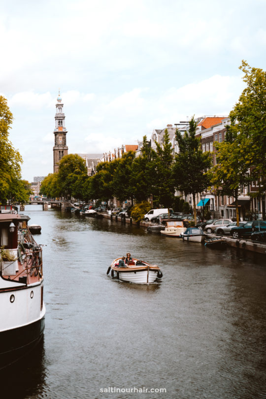 amsterdam city trip boat canals