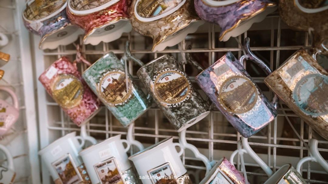 Karlovy Vary hot spring mugs