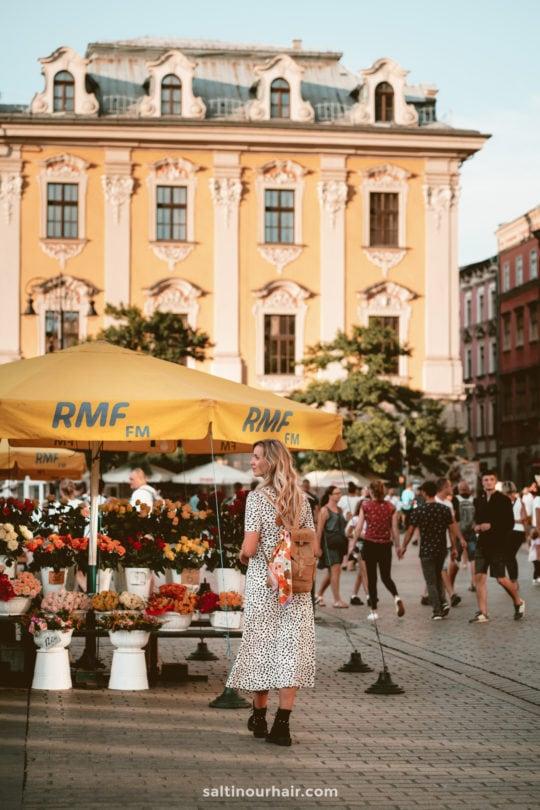 krakow poland things to do Rynek Glowny