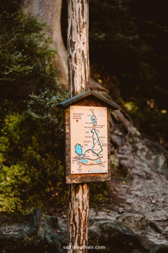 Czech Republic National Park trail