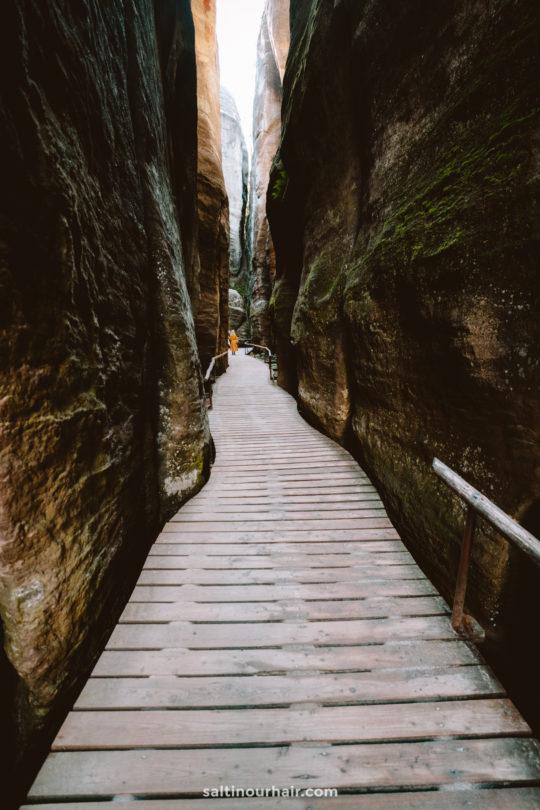 czechia national park trail