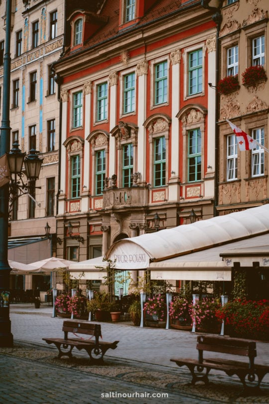 poland wroclaw Rynek Market Square