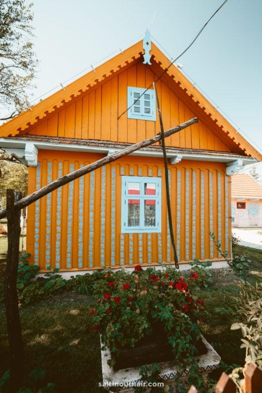 poland zalipie painted village