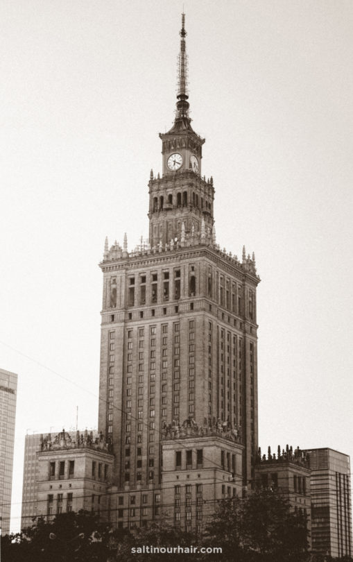 warsaw thing to do Palace of Culture