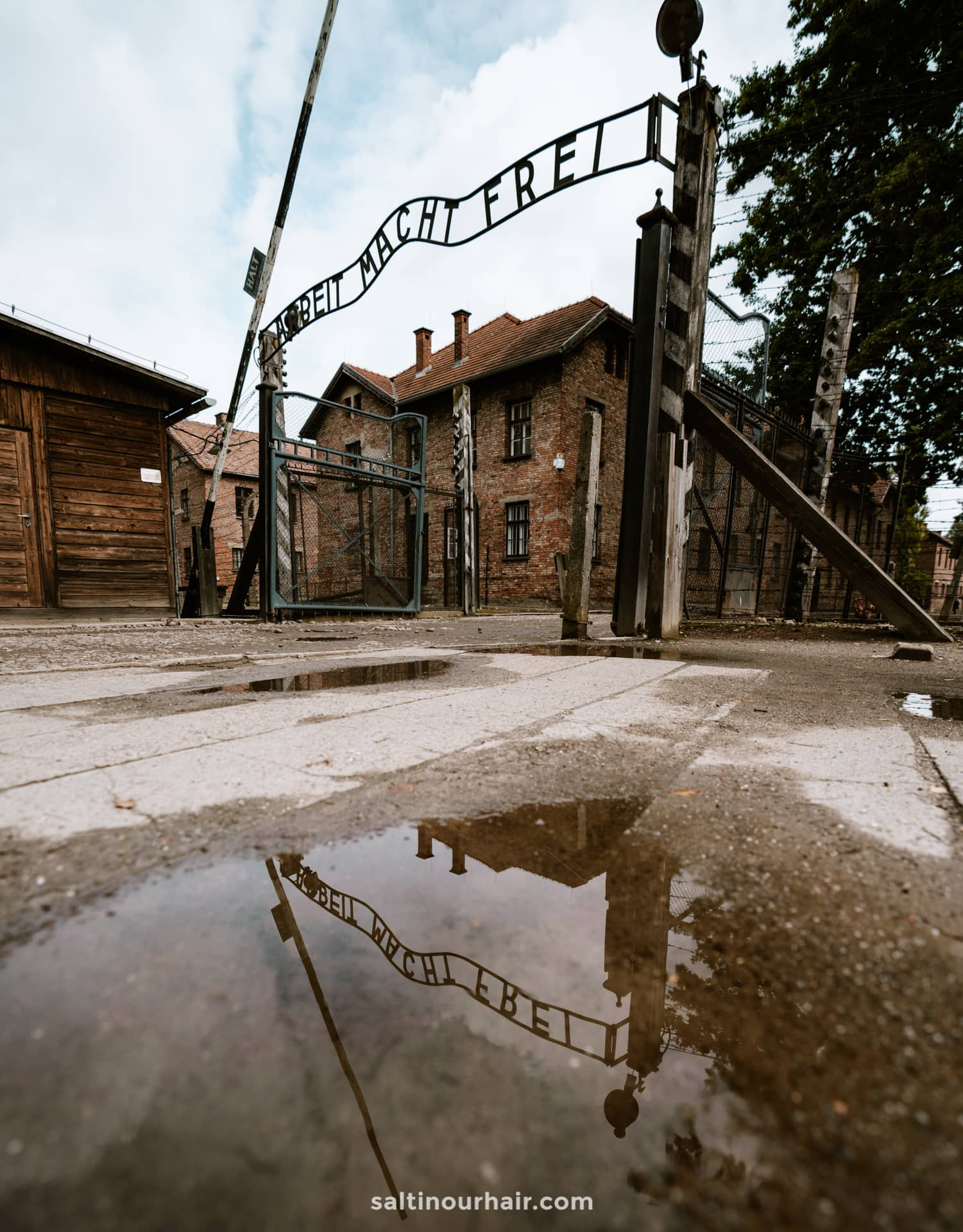 Visiting Auschwitz Concentration Camp