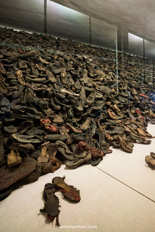 shoes victims auschwitz